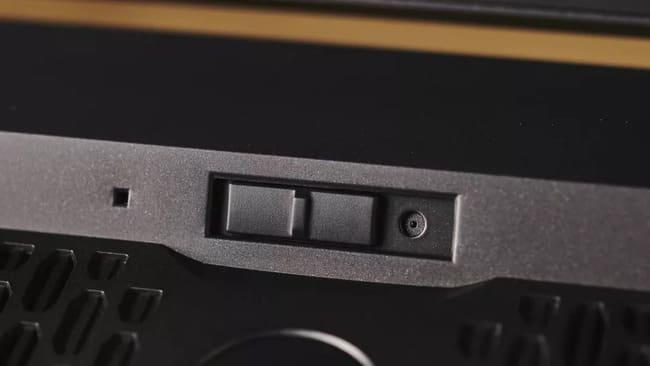 Веб-камера на Gigabyte Aorus 17G (2021)