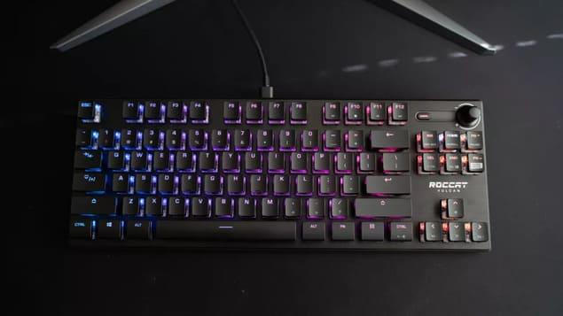 Компактная игровая клавиатура Roccat Vulcan TKL Pro