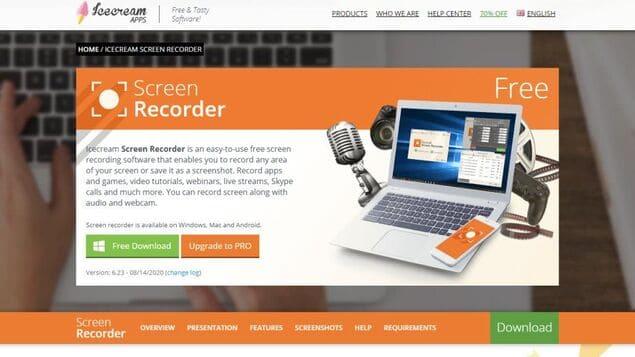 Лучшая программа записи видео с экрана - Icecream Screen Recorder