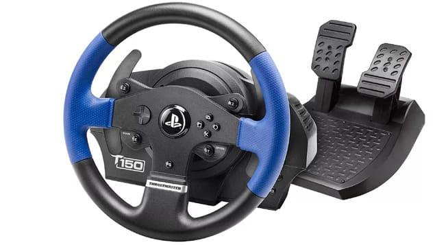 Лучший игровой руль Thrustmaster T150