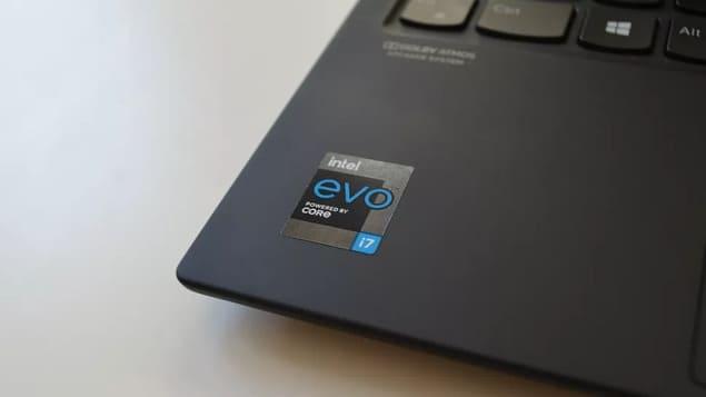 Наклейка Intel Evo на Lenovo ThinkPad X1 Nano