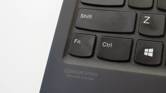 Положение Fn на клавиатуре Lenovo ThinkPad X1 Nano