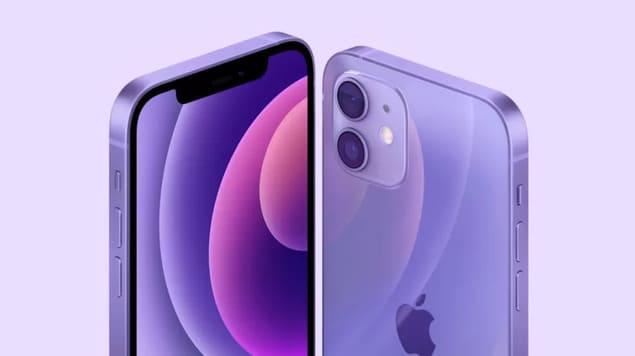 Фиолетовые iPhone 12
