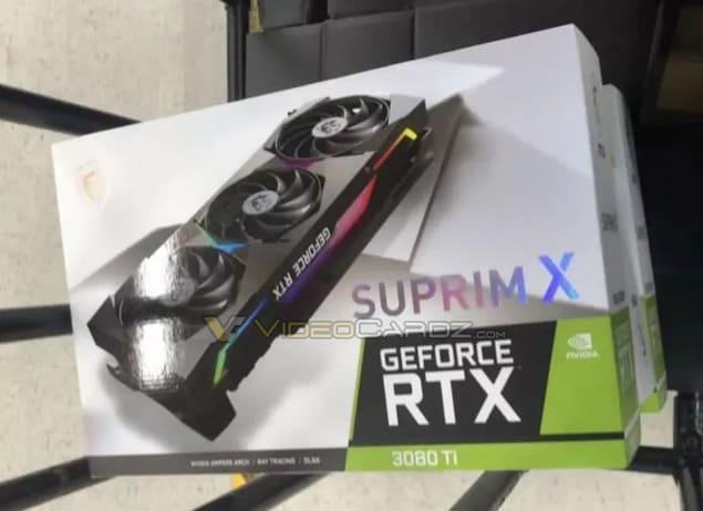 MSI GeForce RTX 3080 Ti Ventus Suprim X