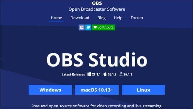 OBS Studio - Лучшая программа записи экрана