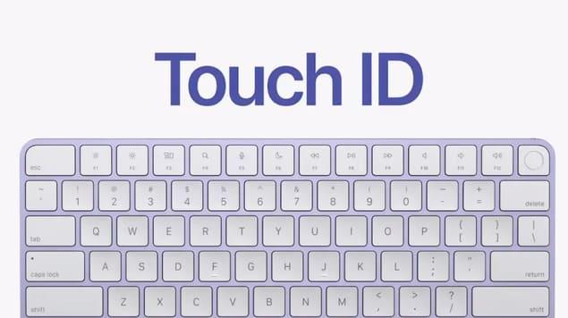 Touch ID на Magic Keyboard