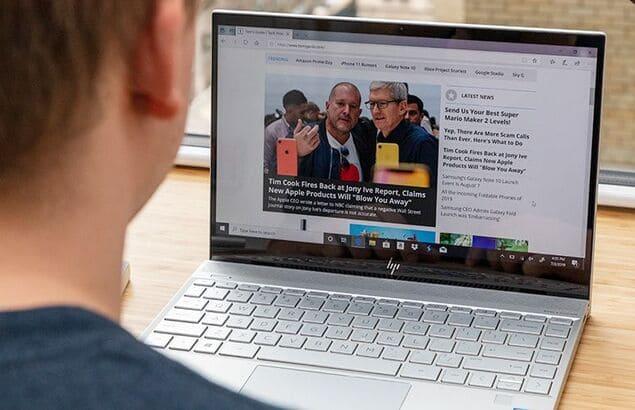 Ноутбук HP Envy 13 (2019)