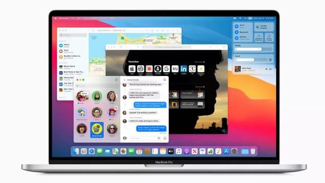 macOS 11 Big Sur на MacBook Pro