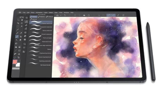 Планшет для рисования Samsung Galaxy Tab S7 FE
