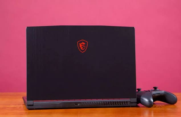 Бюджетный игровой ноутбук MSI GF63 8RB