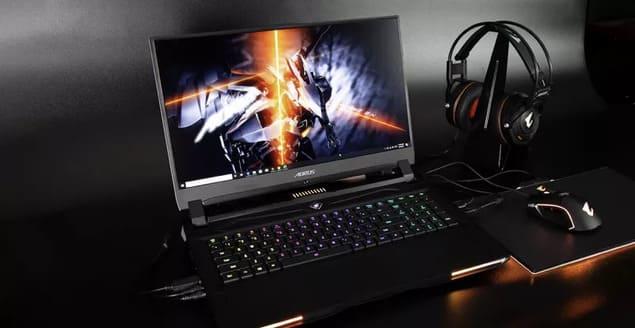 Игровой ноутбук Gigabyte на Intel Tiger Lake-H
