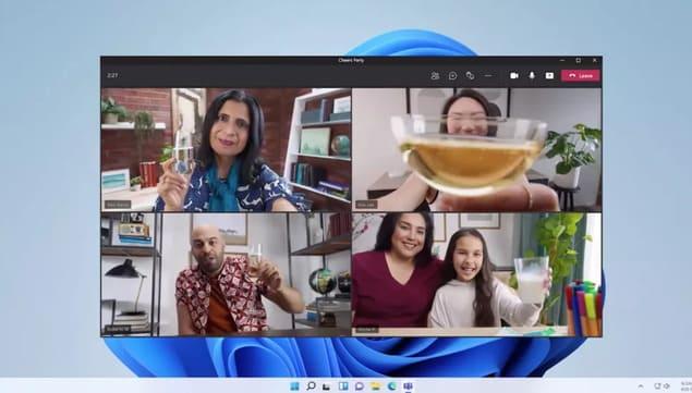 Приложение Teams в Windows 11