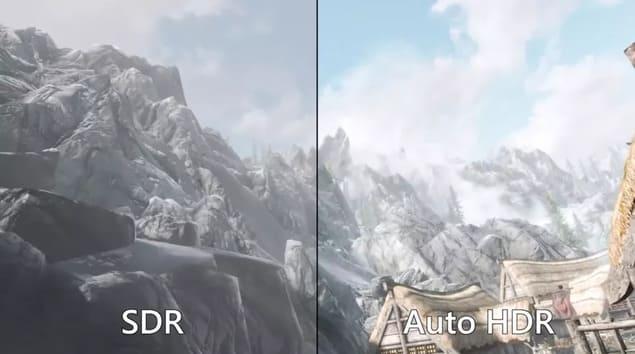Auto HDR в играх на Windows 11
