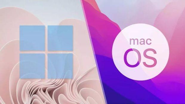 Windows 11 против macOS Monterey