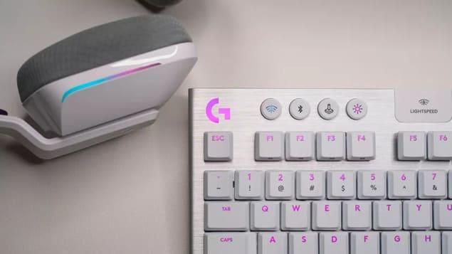 Беспроводная игровая клавиатура Logitech G915 TKL Lightspeed