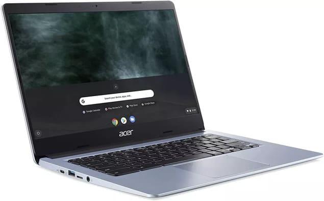 Бюджетный хромбук для учителя Acer Chromebook 314