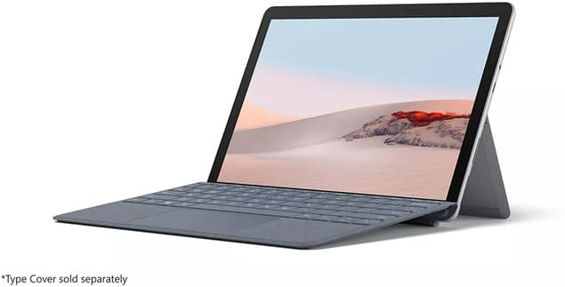 Гибридный планшет для учителя Microsoft Surface Go 2