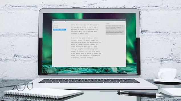 Бесплатная программа для письма - WriteMonkey