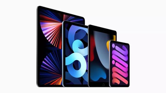 Все планшеты iPad в одном поколении