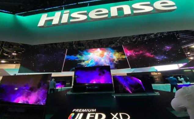 Hisense на CES 2022